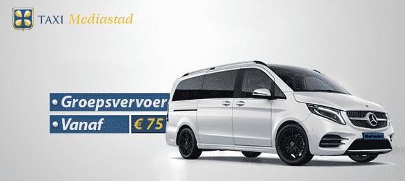 Taxi Hilversum Mediastad Viano 300px - Uw taxicentrale in Hilversum & Gooi